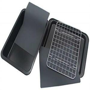 Checkered Chef Toaster Oven Pans 5 Piece Nonstick