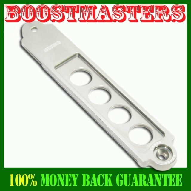 Battery Tie Down BLACK FOR2002-2006 RSX SILVER