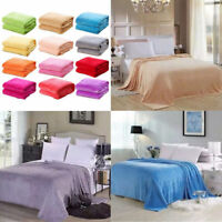 Sofa Bedding Super Soft Plush Flannel Throw Rug Home Decoration Fleece Blanket