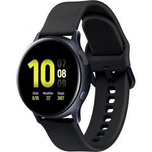 Samsung R820 Galaxy Watch Active 2 44mm schwarz Bluetooth Smartwatch Fitness NEU