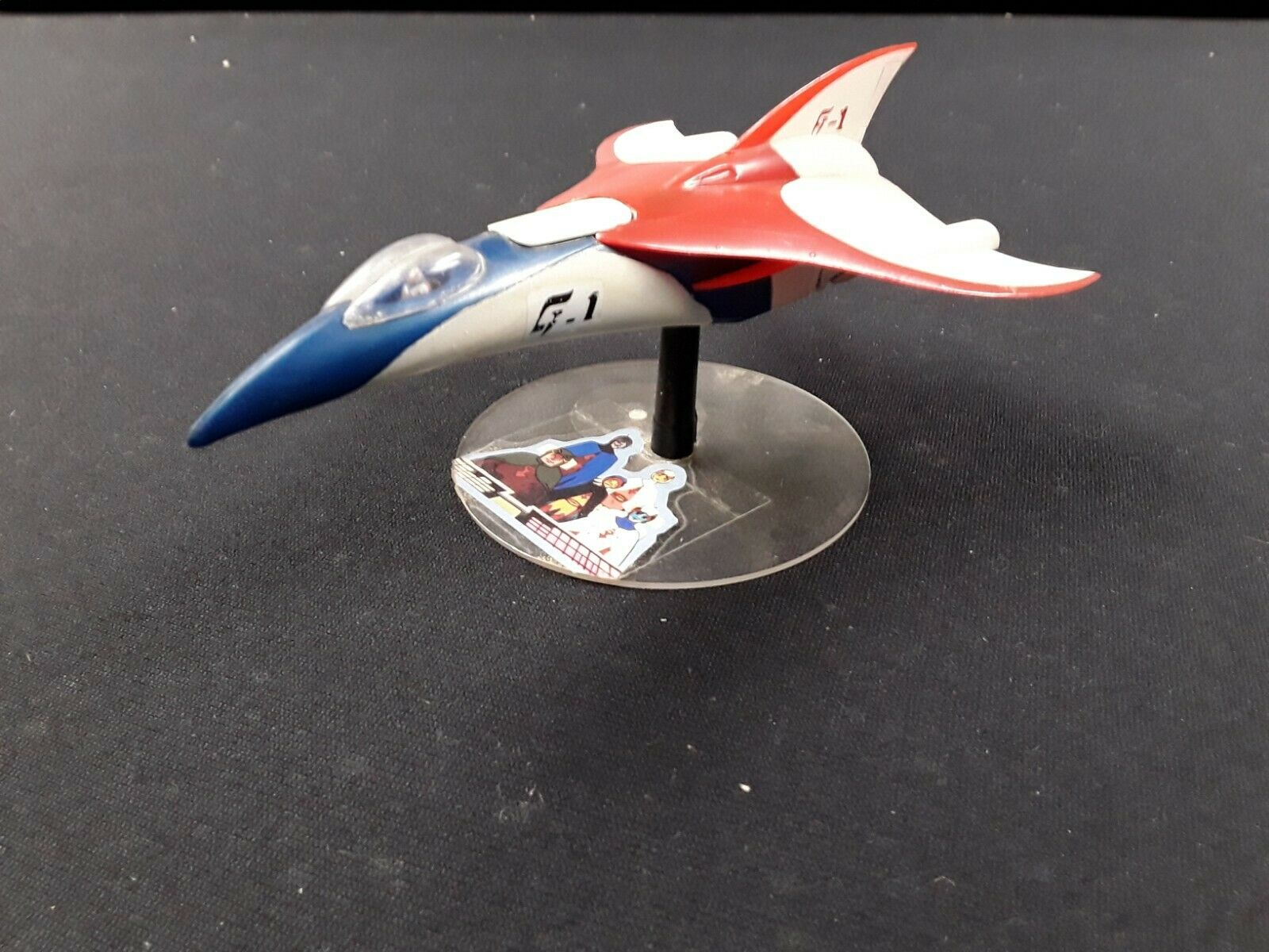 1980 battle o the Planet Gatchaman Mark G1 Jet Plane G Force Anime Vintage Rare
