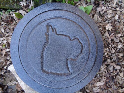 Boxer stepping stone plastic mold concrete plaster  mould