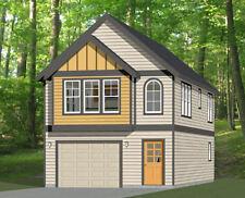 20x40 House -- 2 Bedroom 1.5 Bath -- 1,077 sq ft -- PDF Floor Plan -- Model 8