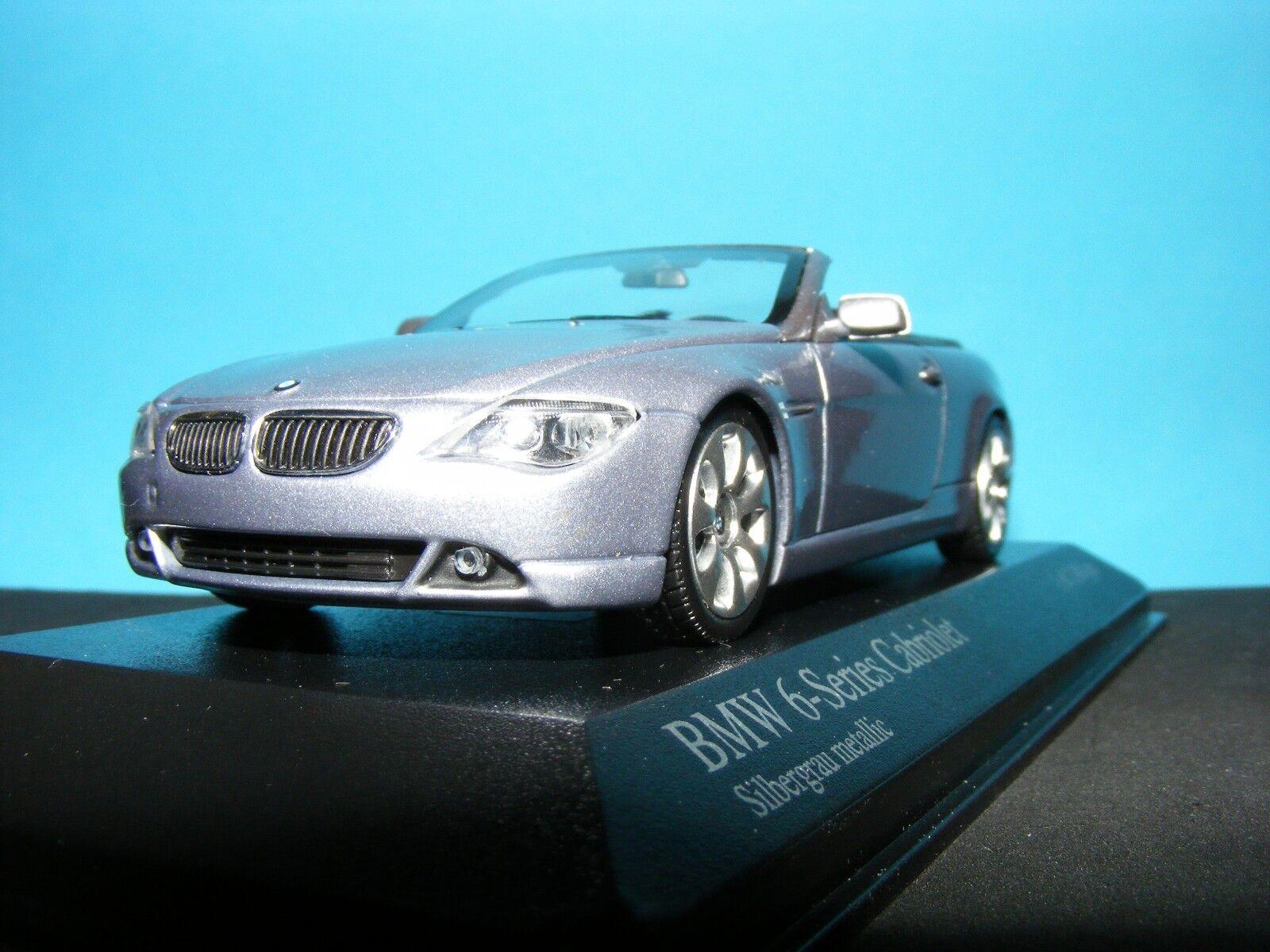 venta con descuento BMW serie 6 Cabrio En Plata 1 de 1008 1008 1008 piezas de un Minichamp Nuevo I 1 43RD.  ¡No dudes! ¡Compra ahora!