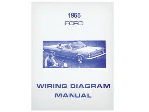 1965 Galaxie Wiring Diagram Manual Schematic 500 XL LTD Country Squire Ford  New | eBay