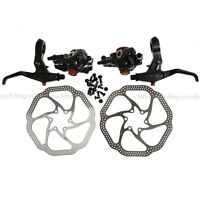 Avid Bb7 Disc Brake Front And Rear Calipers 160mm Hs1 Rotors Sd7 Levers