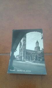 CARTOLINA-VERCELLI-BASILICA-S-ANDREA-FG-VG-NEL-1952