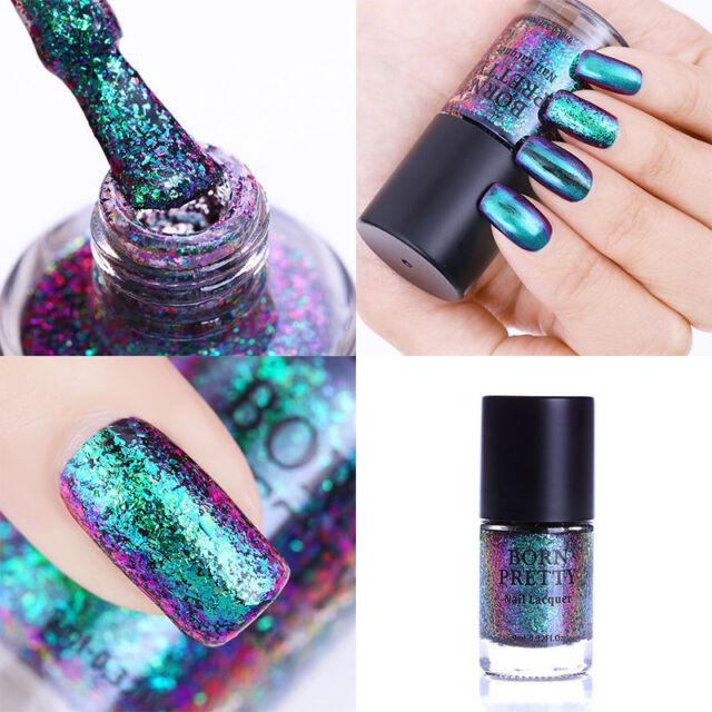 9ml Born Pretty Chameleon Nail Polish Destiny Fairy Sequins Varnish Manicure Ebay