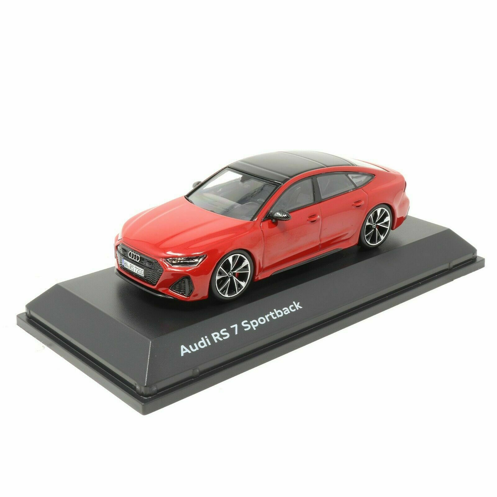 Audi Rs7 Sportback 1 43 Model Car 5011917031 Tango Red Genuine New 2160000050530 Ebay