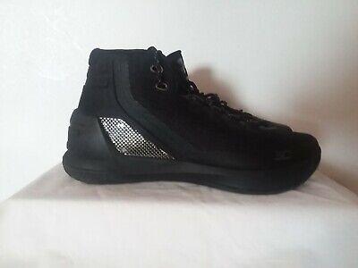 bd5962c9097 Men s Under Armour Curry 3 Trifecta Black Basketball Shoes 1269279-001 Sz.10