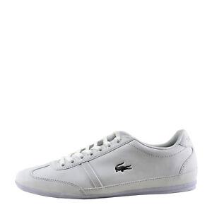 37f12e017 Lacoste Misano Sport 118 White Men s Lace Sneaker 35CAM013721G