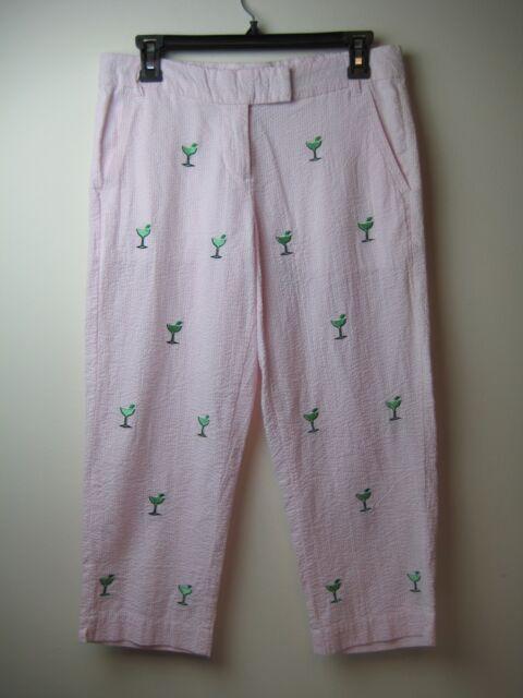 New CASTAWAY Women Nantucket Island Pink Pants Margaritas    00bcbdc05