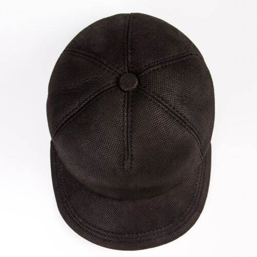 59-60 Men/'s Cap Hat Thin Warm Soft Sheepskin Natural Made in Turkey  XL