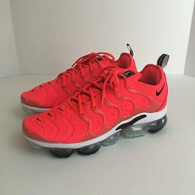 super popular a3714 28c2a Men's Nike Air Vapormax Plus Bright Crimson (924453-602) - Size 10.5 | eBay
