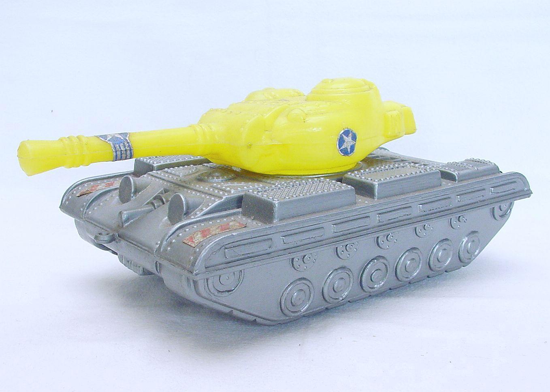 Moldeado de soplo 1 25 Us Army Patton M-47 Tanque 27cm Largo Perfecto bonito `68 Muy Raro