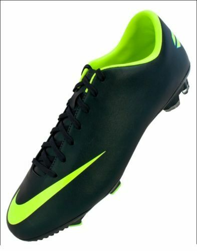 NIKE MERCURIAL VICTORY III FG FIRM GROUND SOCCER SHOES FOOTBALL SEAWEED VOLT