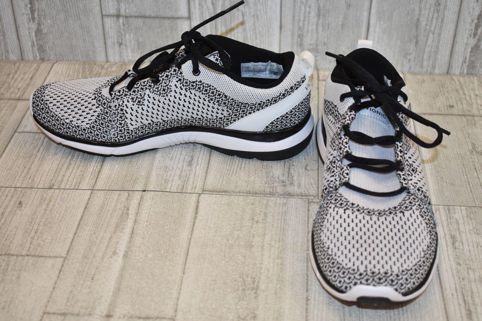 Vionic Flex Sierra Athletic scarpe - Donna    Dimensione 10 - bianca nero 28b7b7