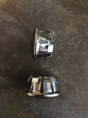 Schwinn Chrome Metal Handlebar End Caps Vintage NOS Varsity Continental Ramshorn