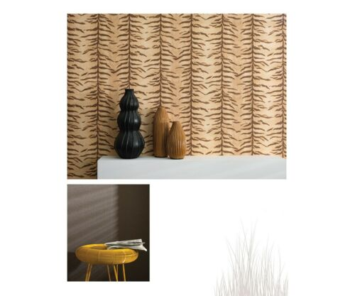 Wallpaper Paste the Wall Animal Print Featurewall