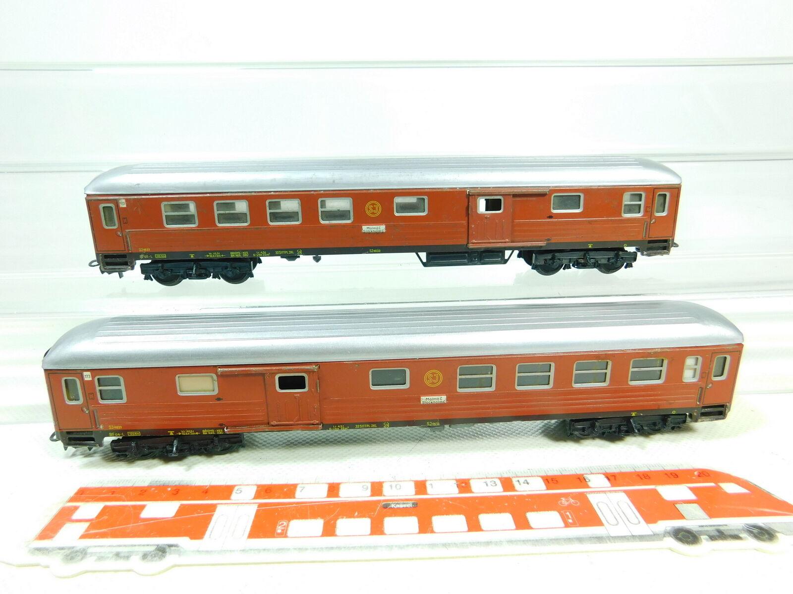 BT594-0,5  2x   H0/Ac 4031 Vagone Treno Latta Vagone Borsaagli Sj ; 2.wahl