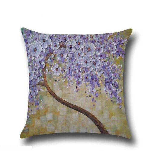 Printed Geometric Throw Sofa Pillowcases Flower Cover Cushion New Home Supplies