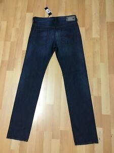 Nuovo-con-etichette-Da-Uomo-DIESEL-BUSTER-U-Smooth-Jeans-REGULAR-SLIM-0838B-Blu-W30-L32-H6-RRP-200
