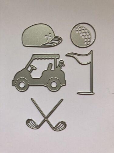 vendedor del Reino Unido Craft Die álbumes de recortes tarjetas Golf