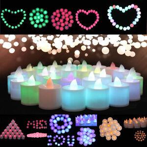 PARTY-DECORARE-LED-LUCE-CANDELA-Elettronica-Luminosa-MINI-LED-Luce-HOME-DECOR-COLORE