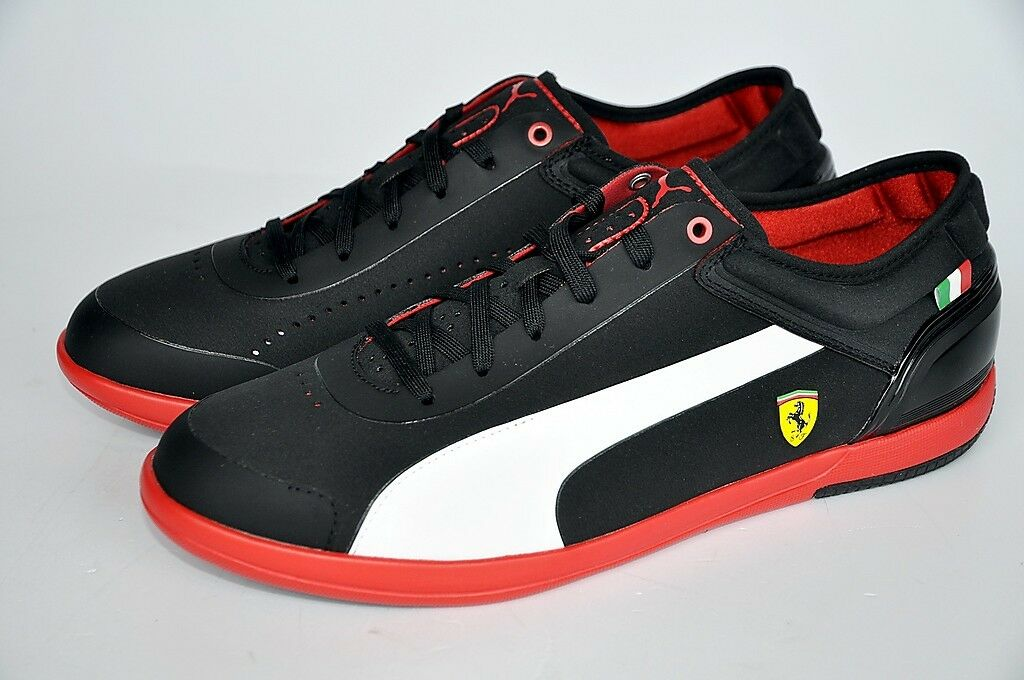 Puma Schuhe DRIVING POWER LIGHT LOW SF Ferrari Sneaker schwarz Gr. 45 NEU