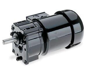 Dayton Model 6z820 Gear Motor 60 Rpm 1 6 Hp 115 230v Ebay