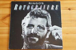 Beatles Ringo Starr ROTOGRAVURE GF Lp Atlantic US Import SD18193 EX
