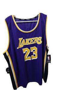 Lebron James Lakers Replica 2X jersey Purple and black ...