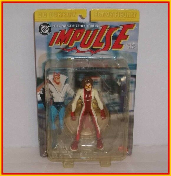 DC DIRECT - IMPULSE - KID FLASH - Universe Classics, Collectibles