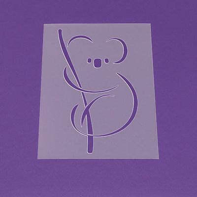 Wandschablone Maler T-shirt Schablone W-043 Koala ~ UMR Design