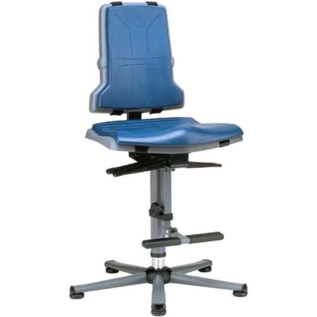 BIMOS Arbeitsstuhl Sintec mit Gleiter - Sitzneigun
