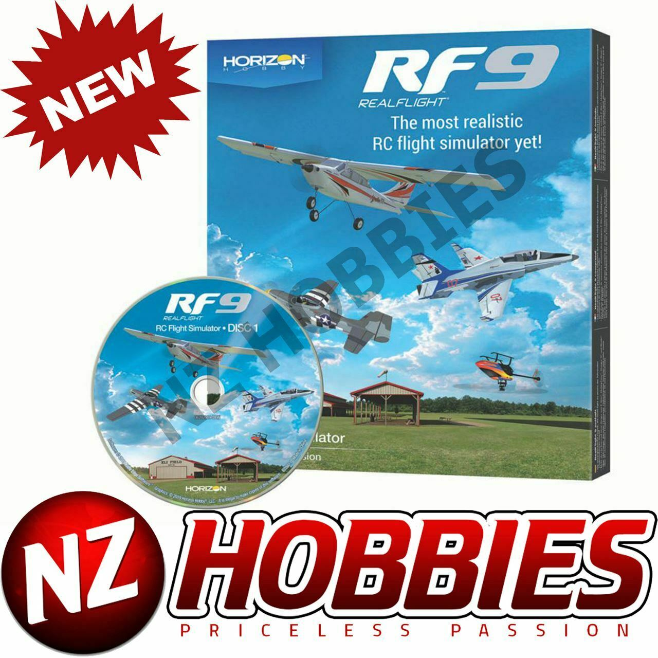 Realvolo 9 Software Only RFL1101 Horizon Hobby edizione   alta qualità generale