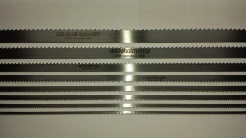 Bandsägeblätter Uddeholm Schwedenstahl von 4500mm bis 5000mm x 30mm x 0,7mm Zt9