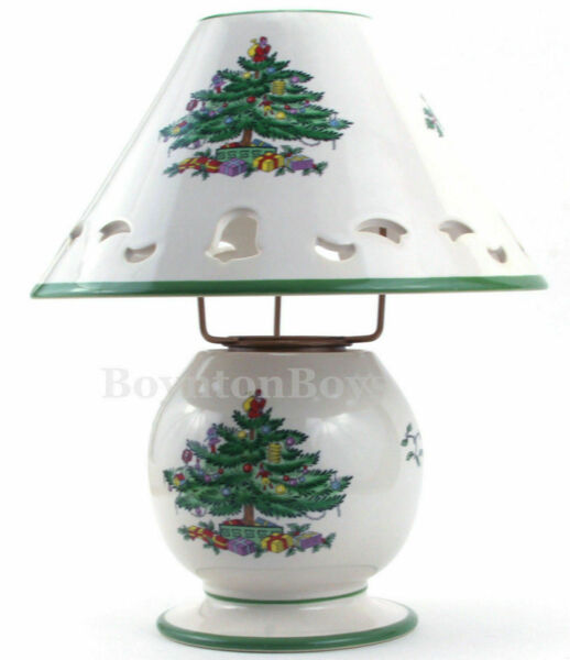 Spode Christmas Tree Sale: Spode Christmas Tree Pierced Lamp Tea Light Candle Votive