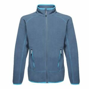 Regatta-Ashmore-Mens-Full-Zip-Lightweight-Fleece-Jacket-Denim