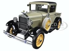 1931 FORD MODEL A PICKUP TRUCK CHEROKEE GRAY 1/18 DIECAST MODEL BY SUNSTAR 6110