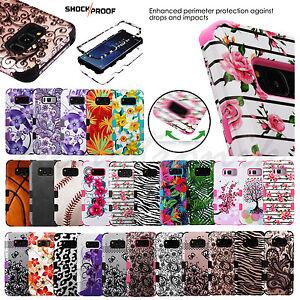 Samsung-GALAXY-S8-PLUS-Impact-TUFF-HYBRID-Armor-Rubber-Rugged-Case-Phone-Cover
