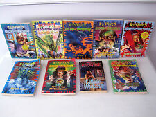 Lot of 8 RL Stine's Ghost of Fear Street & RL Stines Fear Street College Weekend