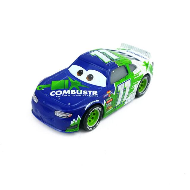 Disney Pixar Cars 3 No.11 Chip Gearings Toy Car Diecast Model New Kids Boys Gift