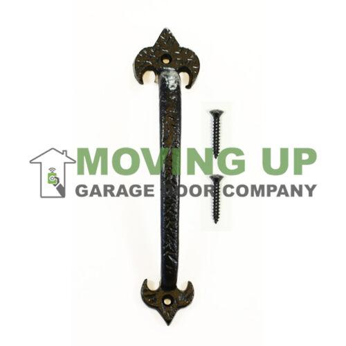 "Garage Door Decorative LIS Pull Handle 10/"" Cast Iron Hardware"