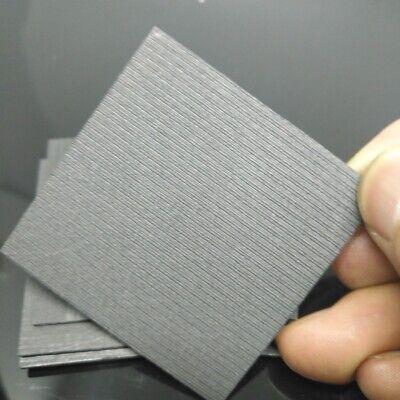 5pcs Set 99.99/% Pure Graphite Electrode Rectangle Plate Sheet 50*40*3mm Hot Sale
