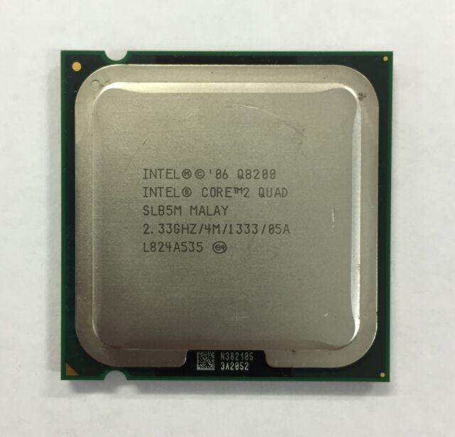 Intel Core 2 Quad Q8200 2.33 GHz 4M 1333 MHz socket LGA775 CPU SLB5M