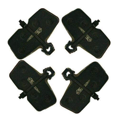 4 PAIRS JEDERLO 02E DISC BRAKE PADS FOR SRAM AVID CODE R RESIN MTB BICYCLE H//P