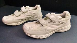 Dr-Scholls-Men-039-s-Gel-Cushion-Cream-Walking-Sneakers-Shoes-Size-10-5D
