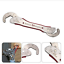 thumbnail 1 - Magic Spanner Stainless Multi-Function Universal Wrench Fits All Types Of Bolts