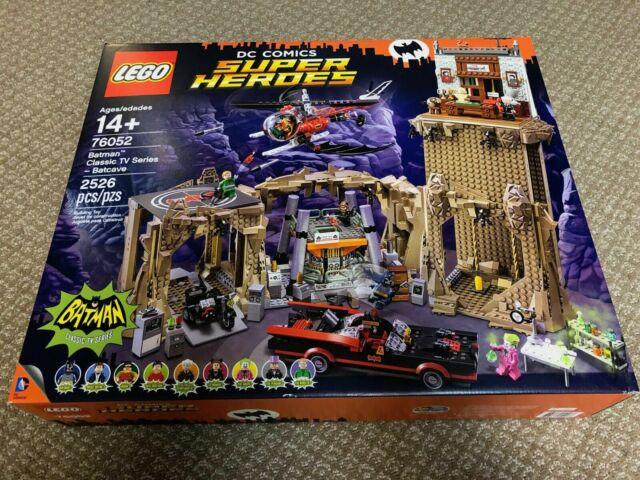 LEGO DC COMICS Super Heroes Batman Classic TV Series Batcave 76052 NEW SEALED